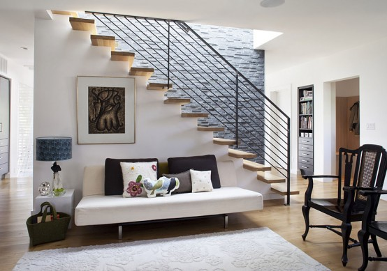 Modern Remodelling Of Very Old House