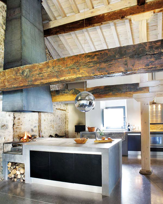 Modern Renovation Of A Rustic House