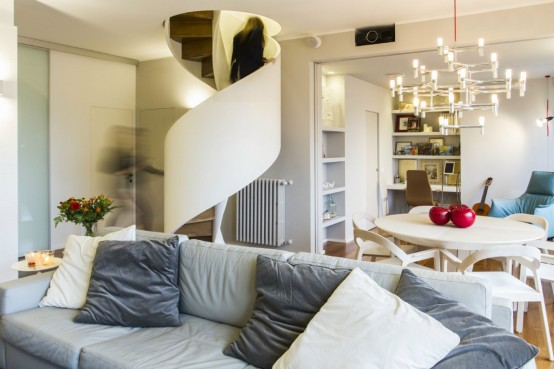 Modern Residence With Practically Organized Interiors