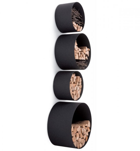 Modern Round Wall Shelves For Displaying Your Belongings