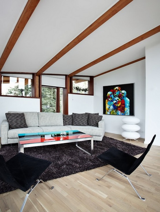 Modern Scandinavian House With A Futuristic Touch