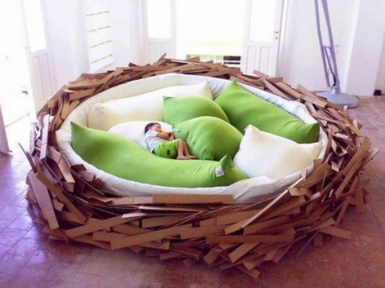 Modern Sculptural Beds
