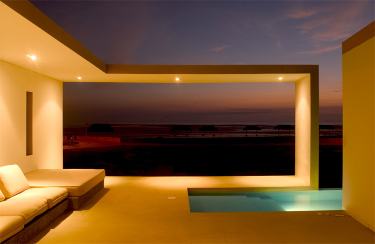 Modern Small Beach House Design In Peru By Javier Artadi Arquitecto    DigsDigs