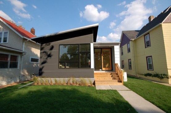 Modern Small Prefab House by HIVE Modular