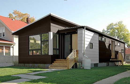 modern small prefab house by hive modular digsdigs. Black Bedroom Furniture Sets. Home Design Ideas