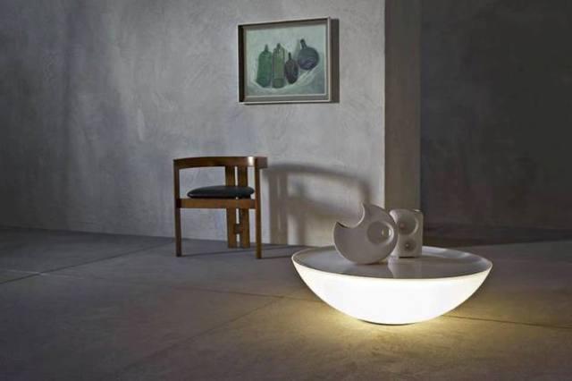 Modern Solar Lamp And Table By Foscarini