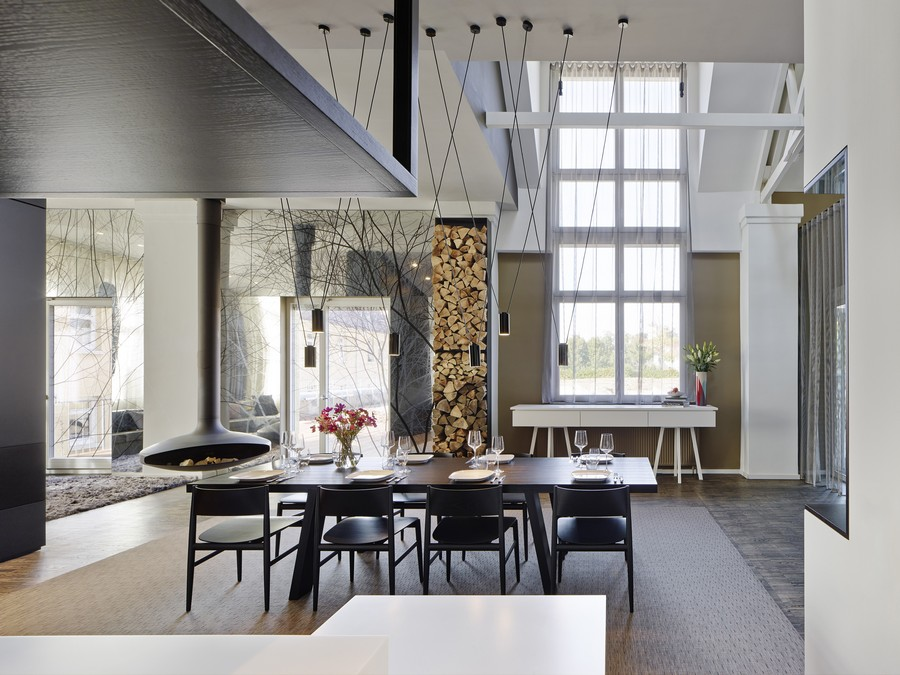 Modern spacious loft with trendy decor solutions digsdigs - Modern loft decor ...