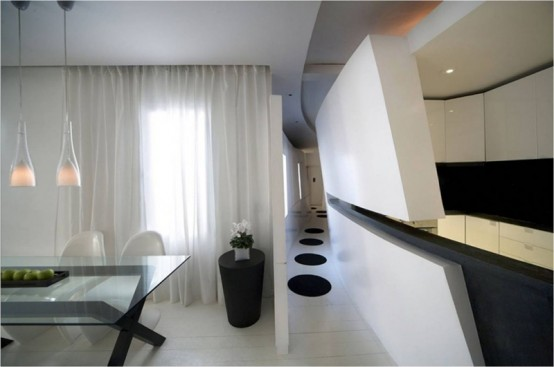 Modern Spanish Apartment Interior