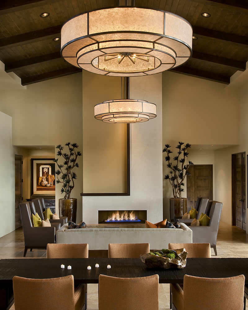 Modern spanish traditional interior design by ownby - Interior design dining room ...