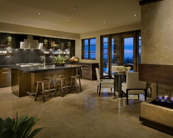 Modern Spanish House Kitchen