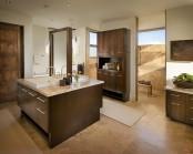 Modern Spanish House Master Bath