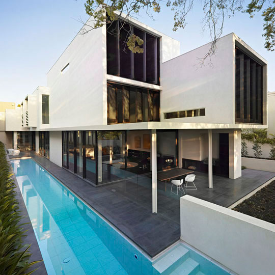 Modern And Glamour Sustainable Home Design Verdant Avenue House By Robert M