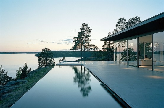 Modern Swedish Dream Home with Amazing Lake Views