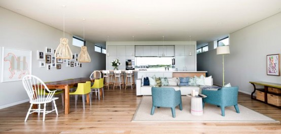 Modern Take On A Seaside House Clovelly House