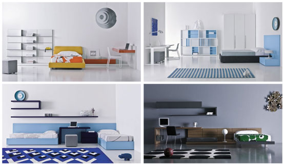Modern Teen Room Designs