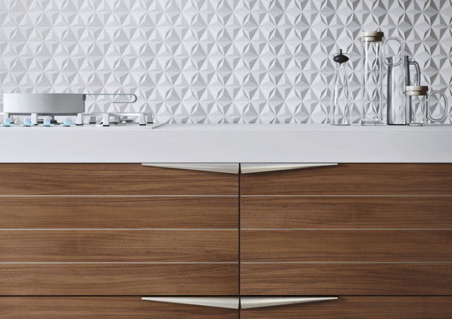 Picture Of modern time kitchen that incorporates linear aesthetic  3
