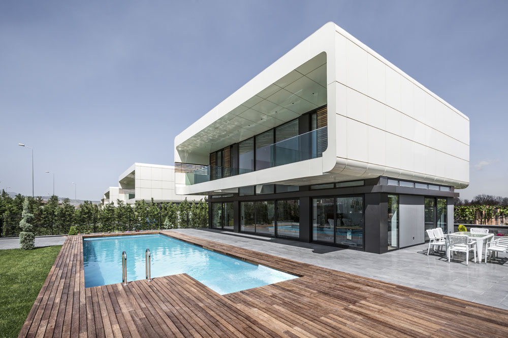 Modern Turkish City Home Design With Glass Walls  DigsDigs