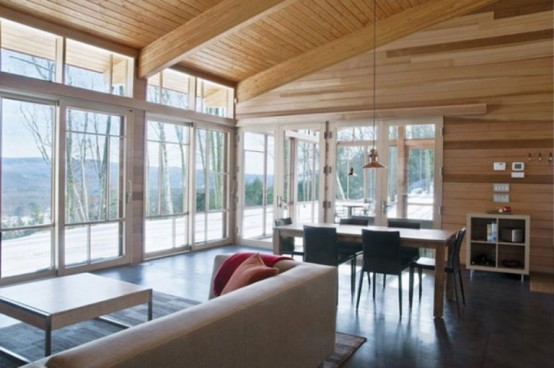 Modern Vacation House Every Detail Of Wood