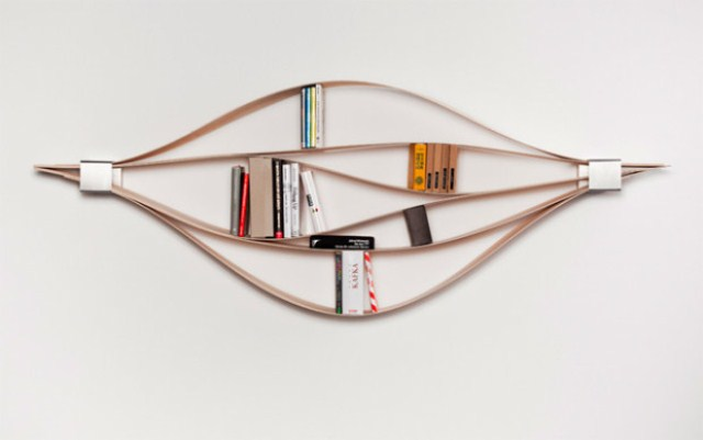 Modern Very Flexible Shelf System For Really Unusual Interiors