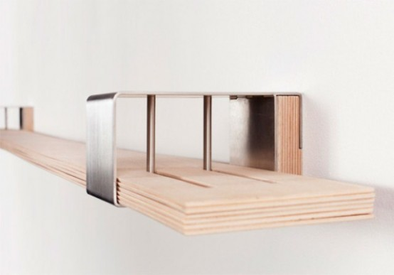Modern Very Flexible Shelf System