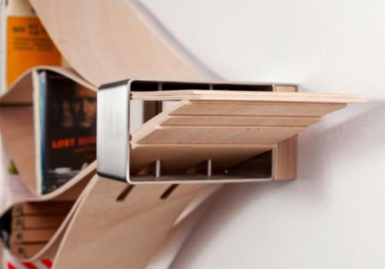 Modern Very Flexible Shelf System