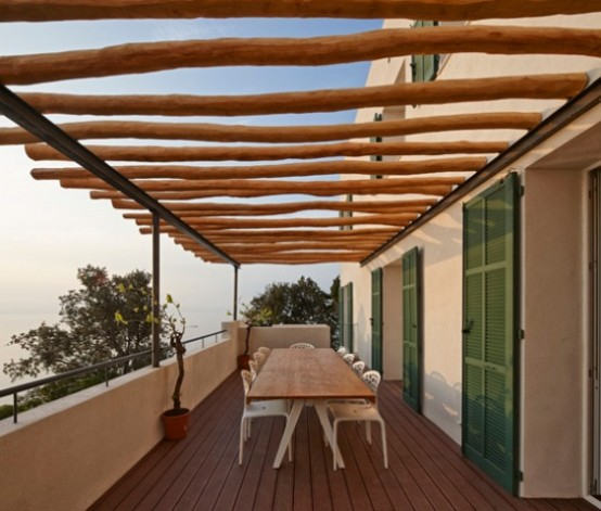 Modern Villa Le Trident With Adorable Sea Views