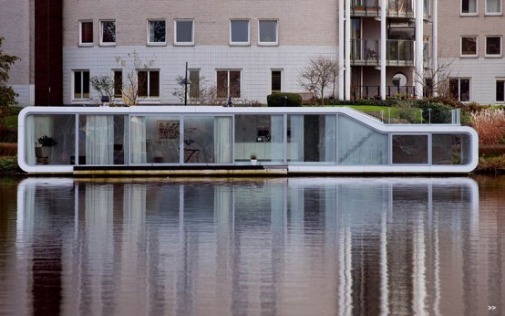 Modern Villa On Water
