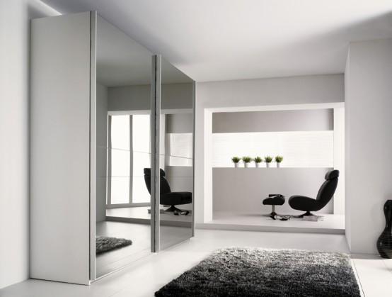 Modern Wardrobe with Refined Door Design – Stuart from Gautier