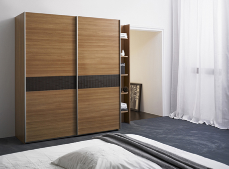 Modern Wardrobe with Refined Door Design - Stuart from ...