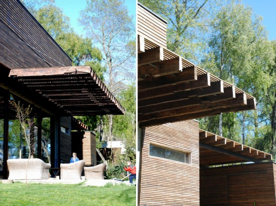 Modern Wood House Desgin