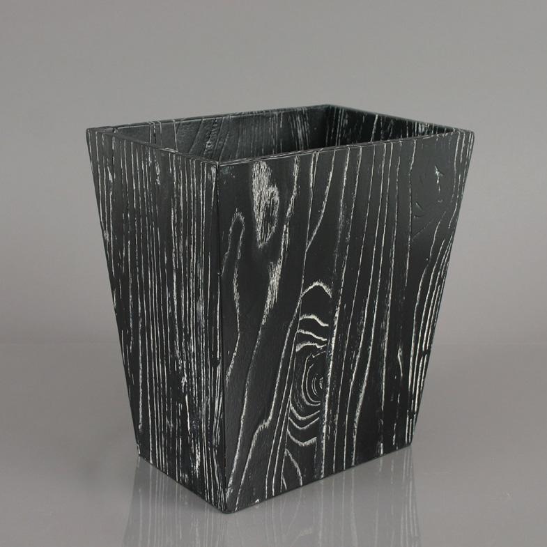 Modern Wood Waste Bin