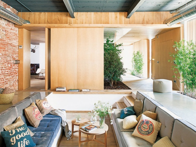 Modern Wooden House Of An Old Toy Store