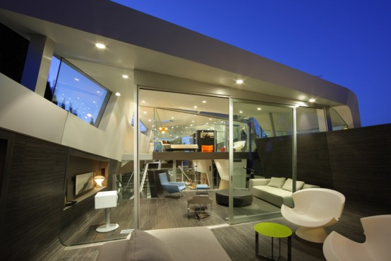 Modern-exterior-design-with-white-chairs