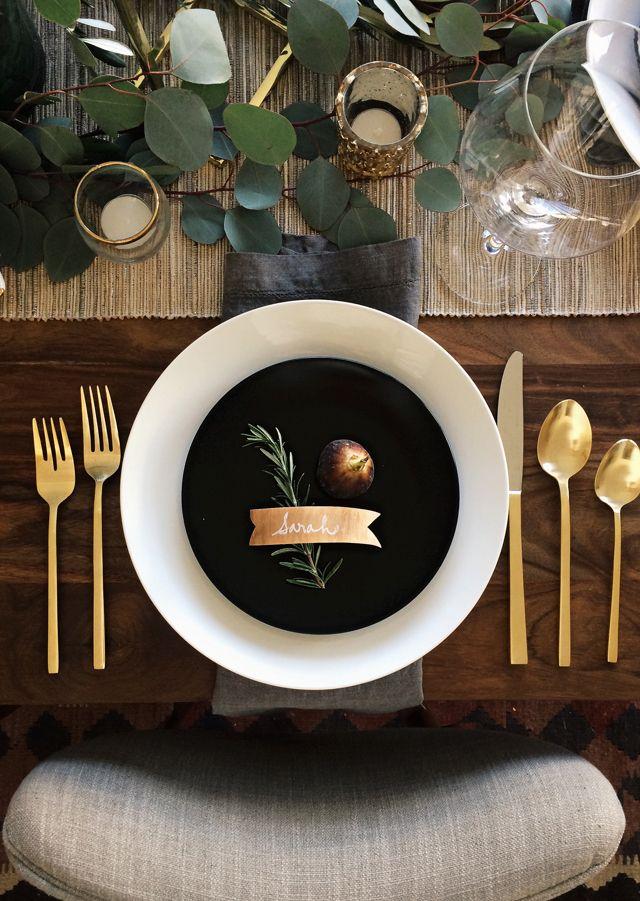 Modern Yet Stylish Thanksgiving Decor Ideas