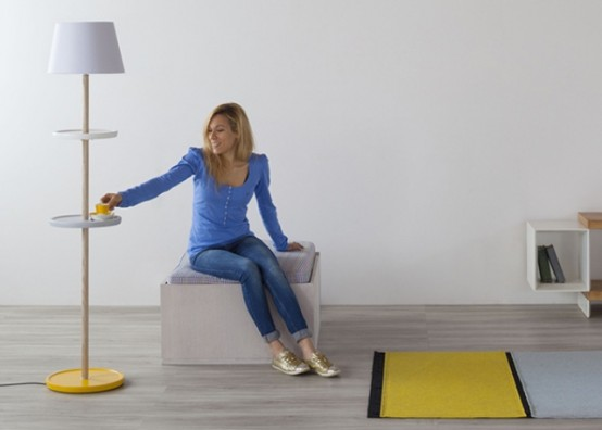 Modest Yet Functional Impila Floor Lamp