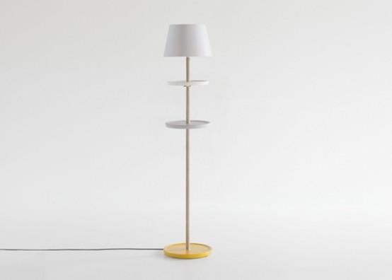 Modest Yet Functional Impila Floor Lamp
