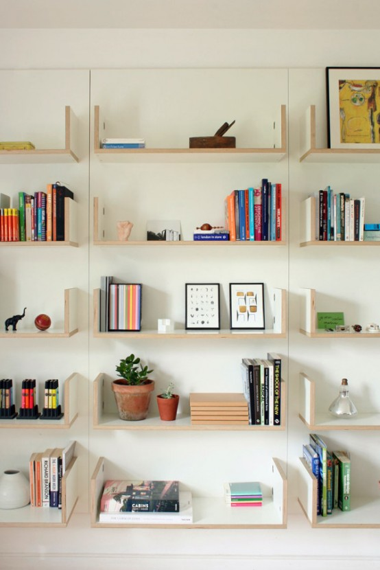 Modular Cv Shelving System That Can Be Personalized