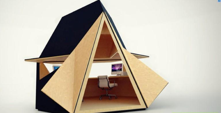 Modular Futuristic Garden Office