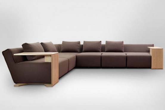 Modular Hocky Sofa To Be Changed According To Your Needs