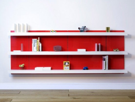 Modular L Type Shelving System With Lots Of Options