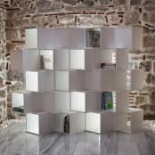 Modular Minimalist Shelving Unit