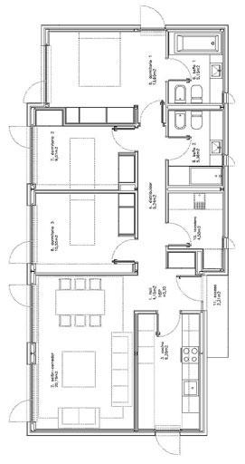 Modular Sleek White House Design