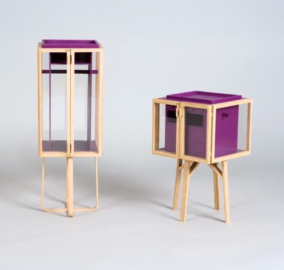 Modular Transparent Clothing Storage System