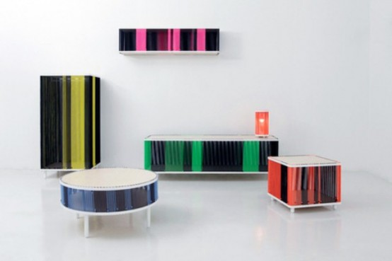 Moire Furniture Collection With A New Storing Approach