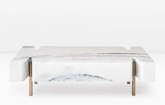 Monolithic Terranova Coffee Table From A Marble Block