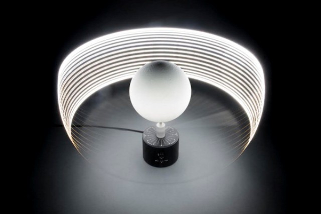 Unique MOON Lunar Lamp Based Upon Nasa Data