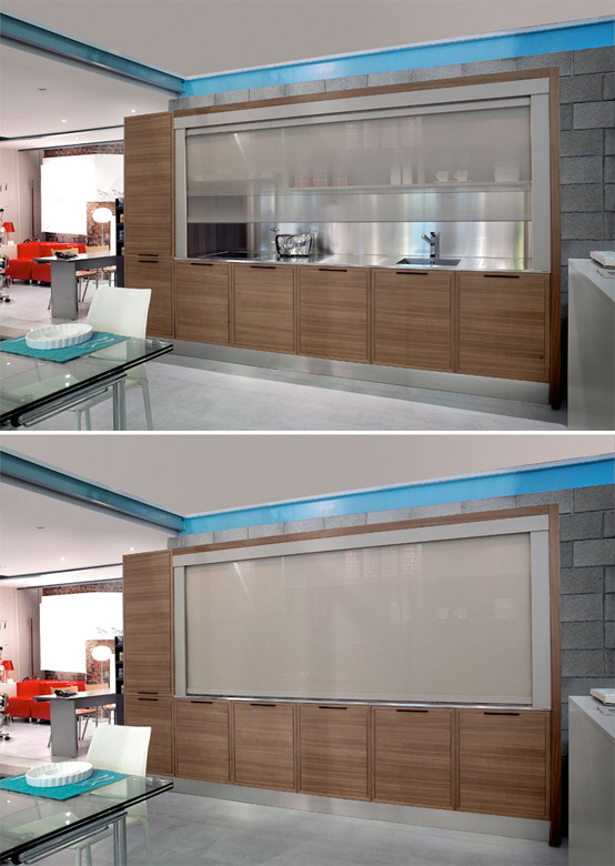 ClassX Innovative Kitchen Design by Moretuzzo DigsDigs