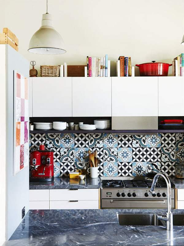 30 moroccan inspired tiles looks for your interior digsdigs Moroccan inspired kitchen design