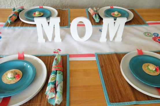 Mother S Day Table Decor