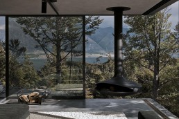 Mountain Retreat Heavily Rendered Stone
